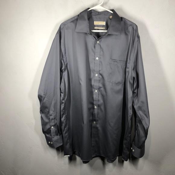 MICHAEL Michael Kors Other - Michael Michael Kors Gray dress shirt size 18